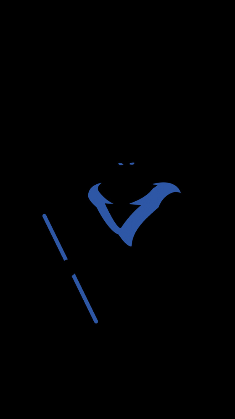 nightwing logo hd wallpaper wwwpixsharkcom images