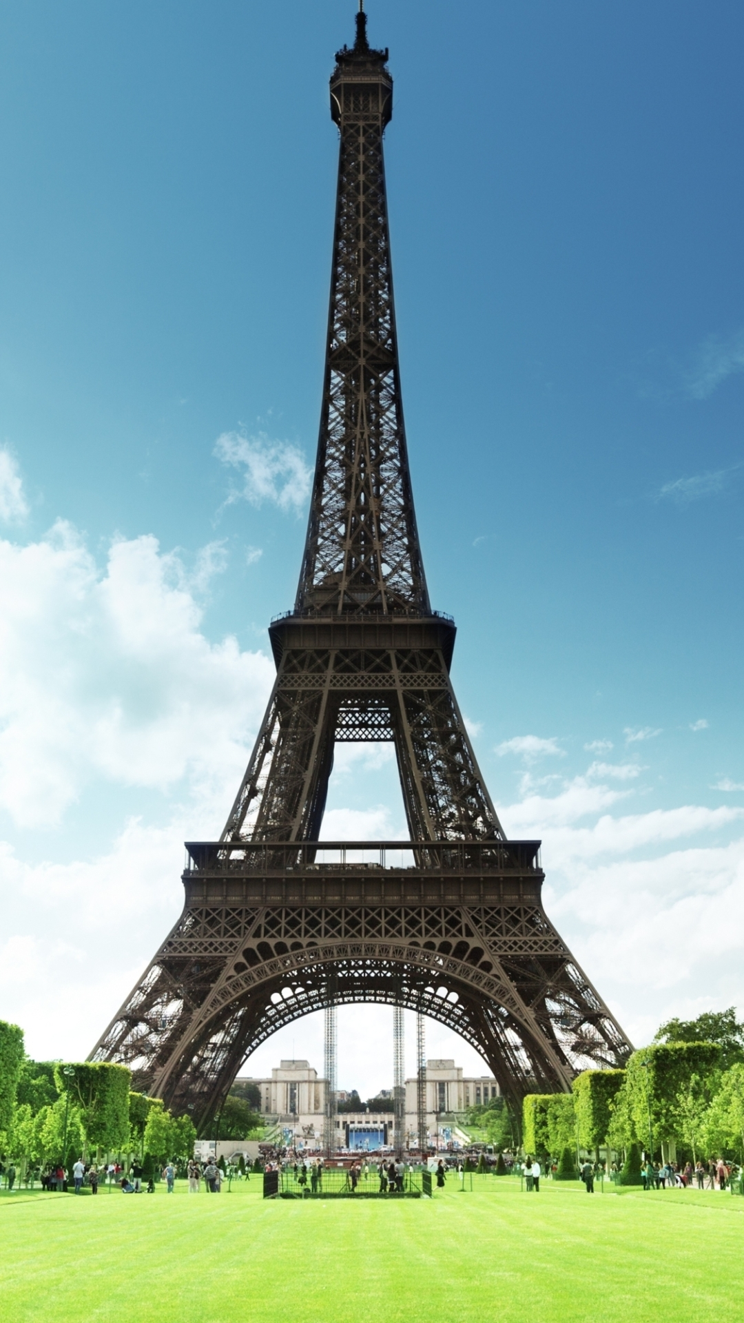 Man Made Eiffel Tower 1080x1920 Wallpaper Id 12509 Mobile Abyss