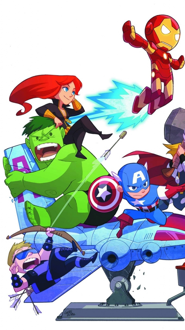 Wallpaper iphone avengers -  Iphone 7 Comics Avengers Wallpaper Id 125515