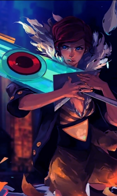 Video Game Transistor 480x800 Wallpaper Id 125845 Mobile Abyss