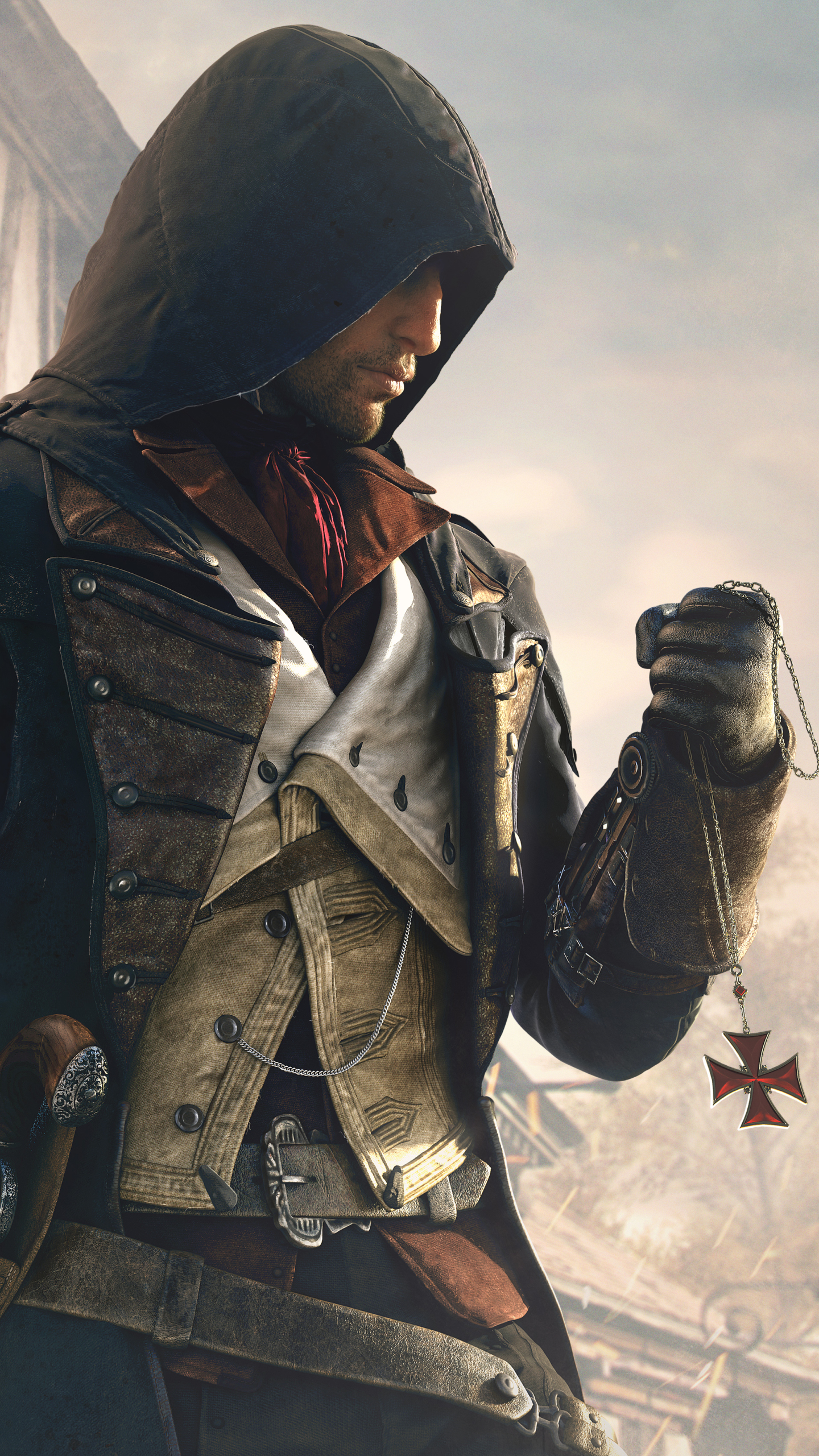 Video Game Assassin S Creed Unity 1440x2560 Wallpaper Id