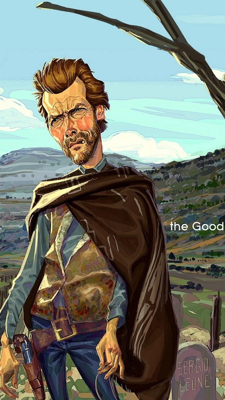 Movie The Good The Bad And The Ugly 720x1280 Wallpaper Id