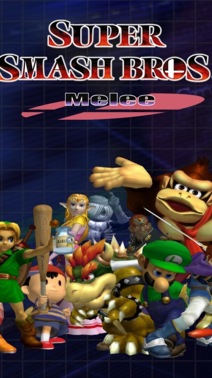 Video Game Super Smash Bros Melee 720x1280 Mobile Wallpaper