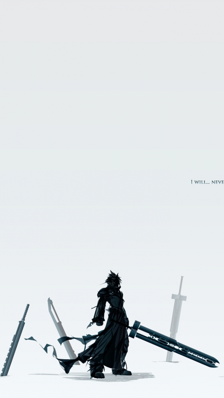 Anime Final Fantasy Vii Advent Children 750x1334 Wallpaper Id