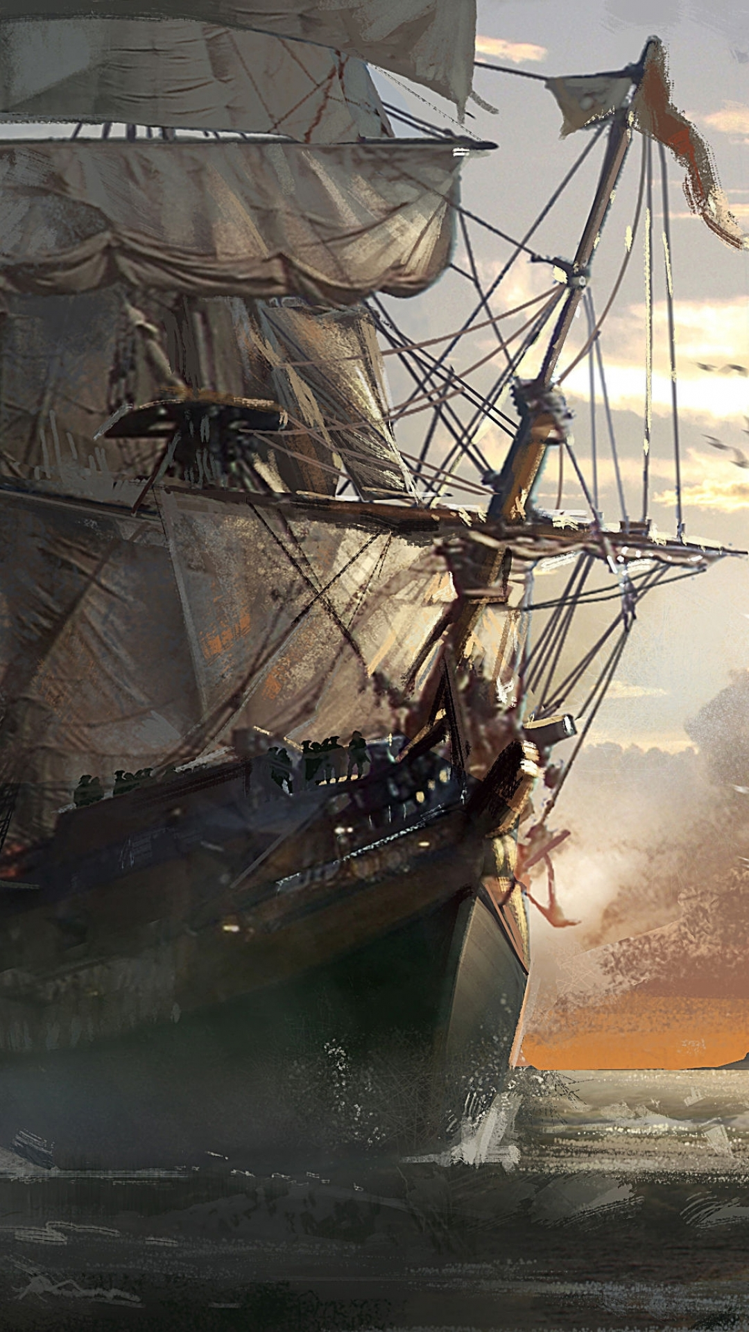 Video Game Assassin S Creed Iv Black Flag 1080x1920 Wallpaper