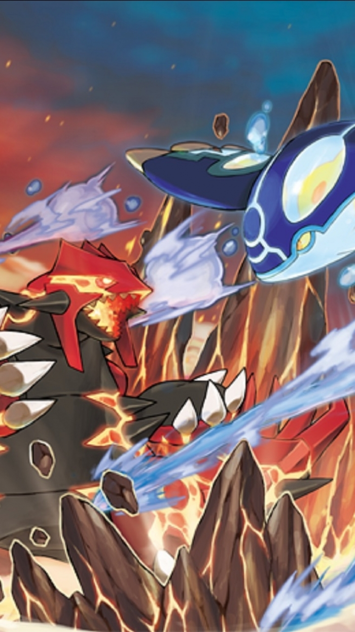 Video Game Pokemon Omega Ruby And Alpha Sapphire 720x1280
