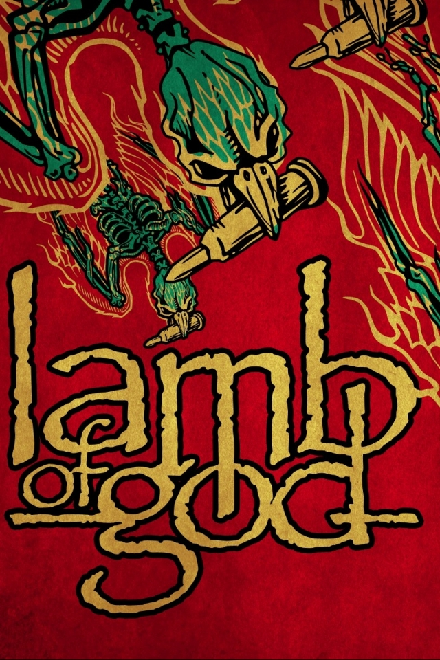 Music Lamb Of God 640x960 Wallpaper Id 164216 Mobile Abyss