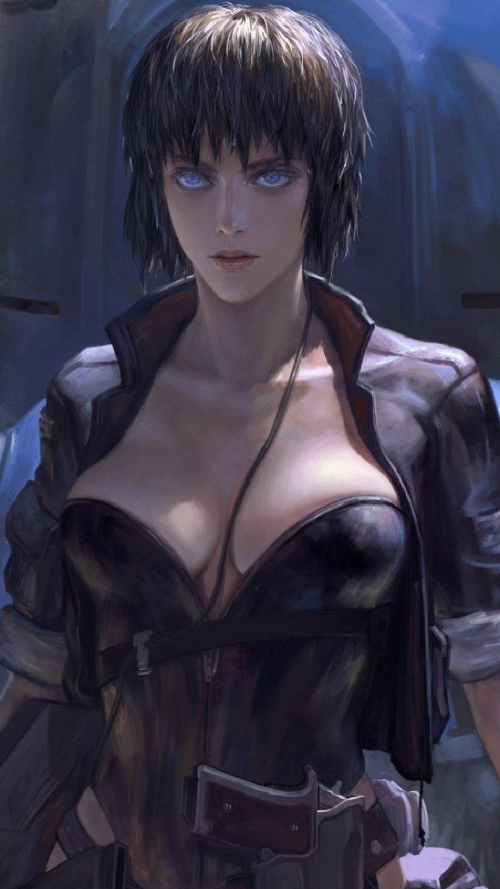 Anime Ghost In The Shell 720x1280 Wallpaper Id 170665 Mobile Abyss