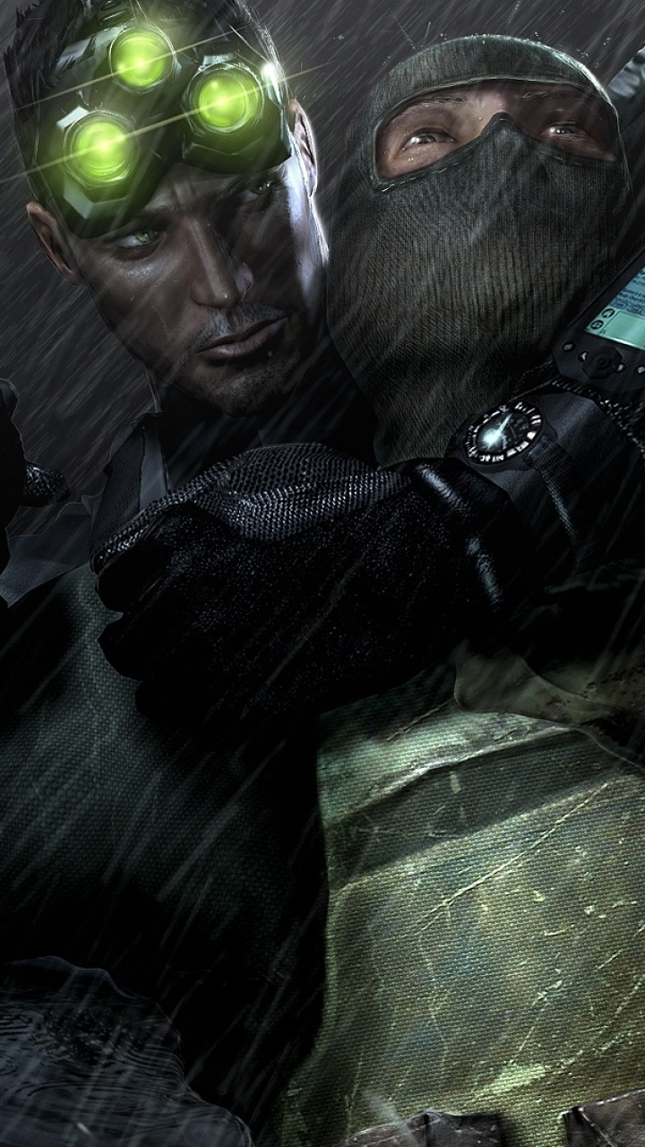 Video Game Tom Clancy S Splinter Cell Chaos Theory 720x1280