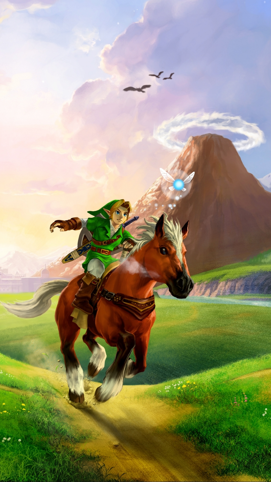 video game/the legend of zelda: ocarina of time (1080x1920