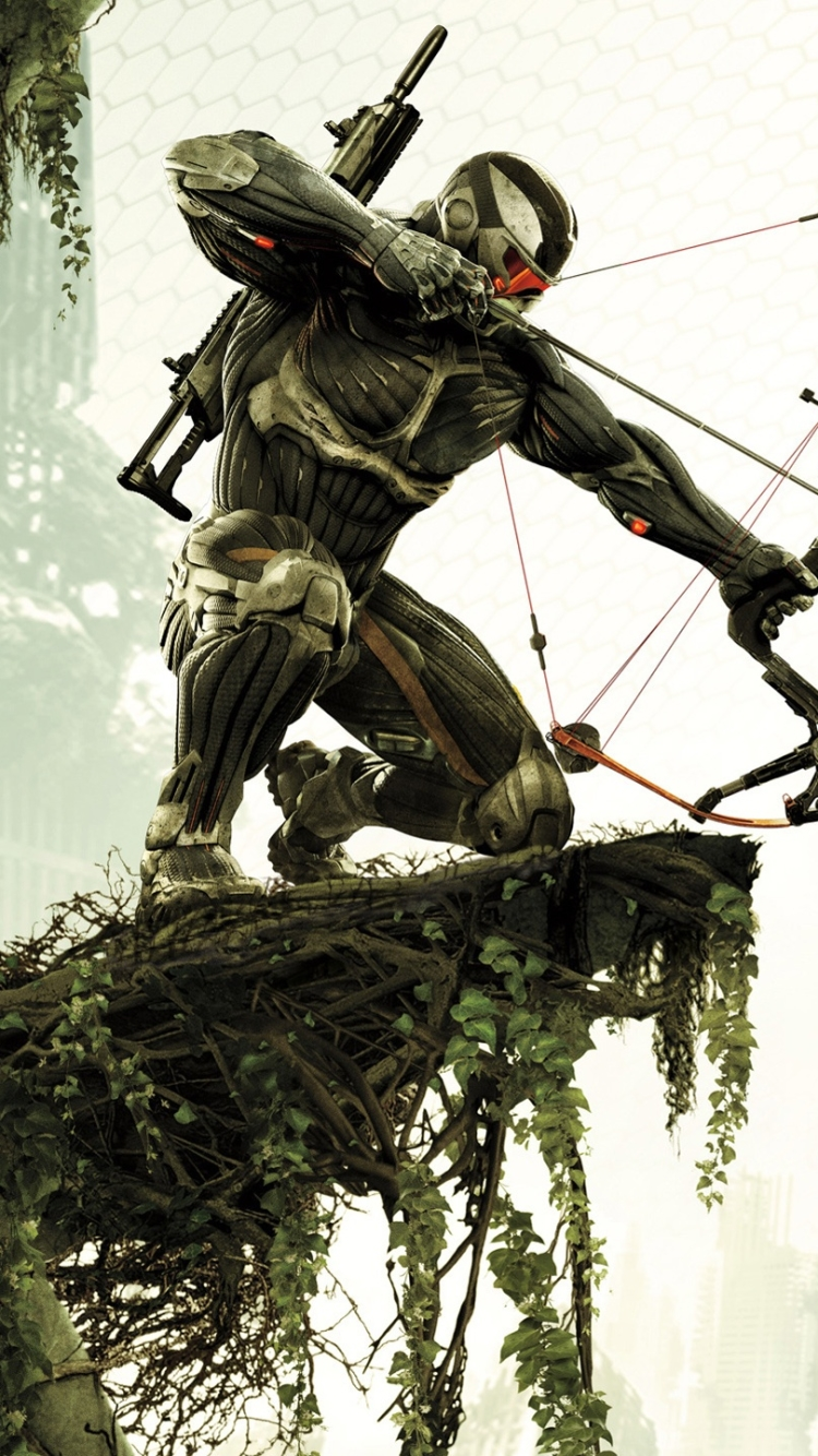 video game/crysis 3 (750x1334) wallpaper id: 214359 - mobile abyss