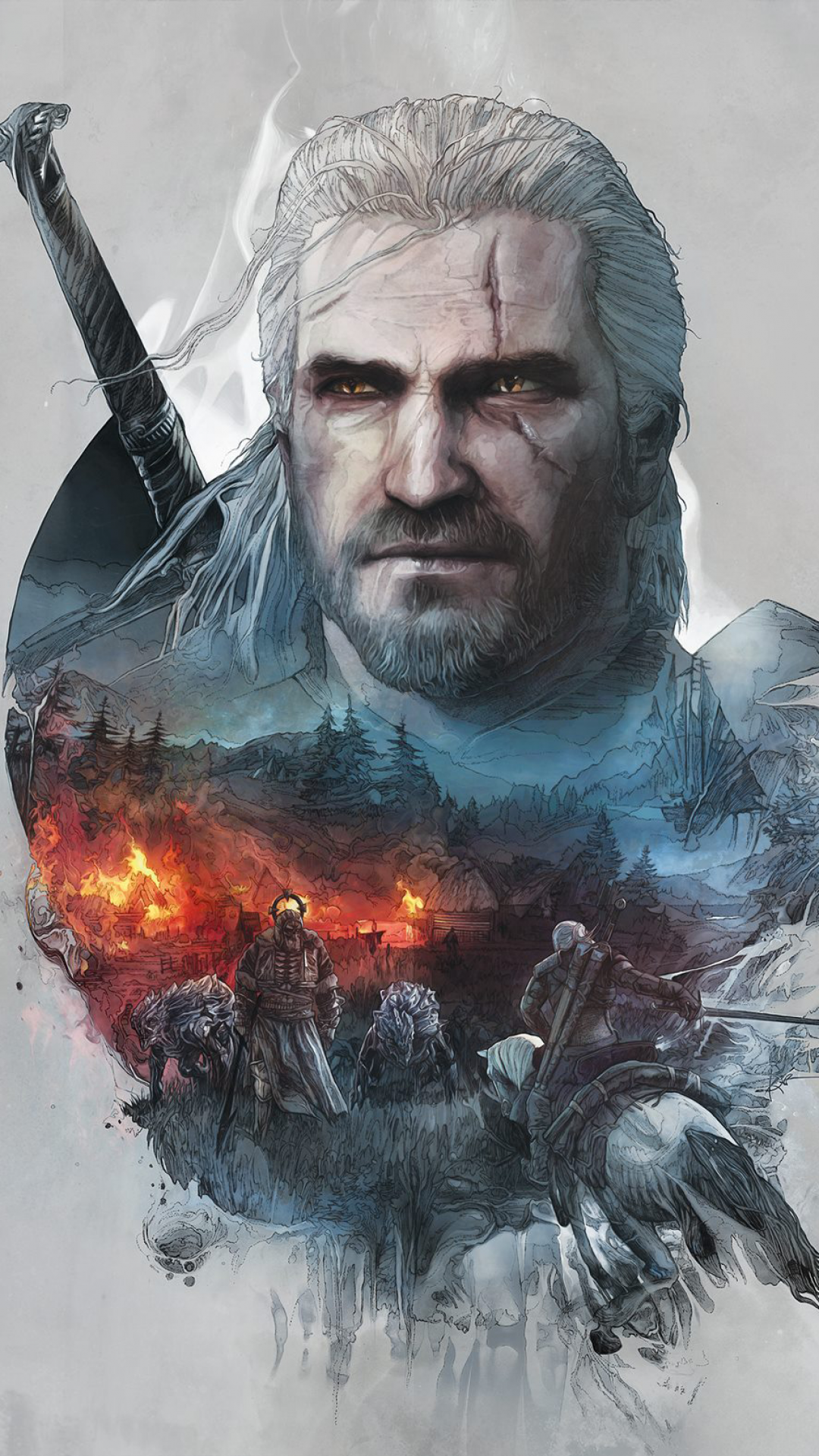 Video Gamethe Witcher 3 Wild Hunt 1080x1920 Wallpaper Id