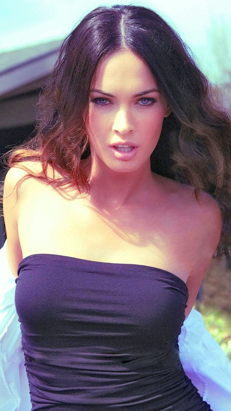 celebrity/megan fox (750x1334) wallpaper id: 233366 - mobile abyss