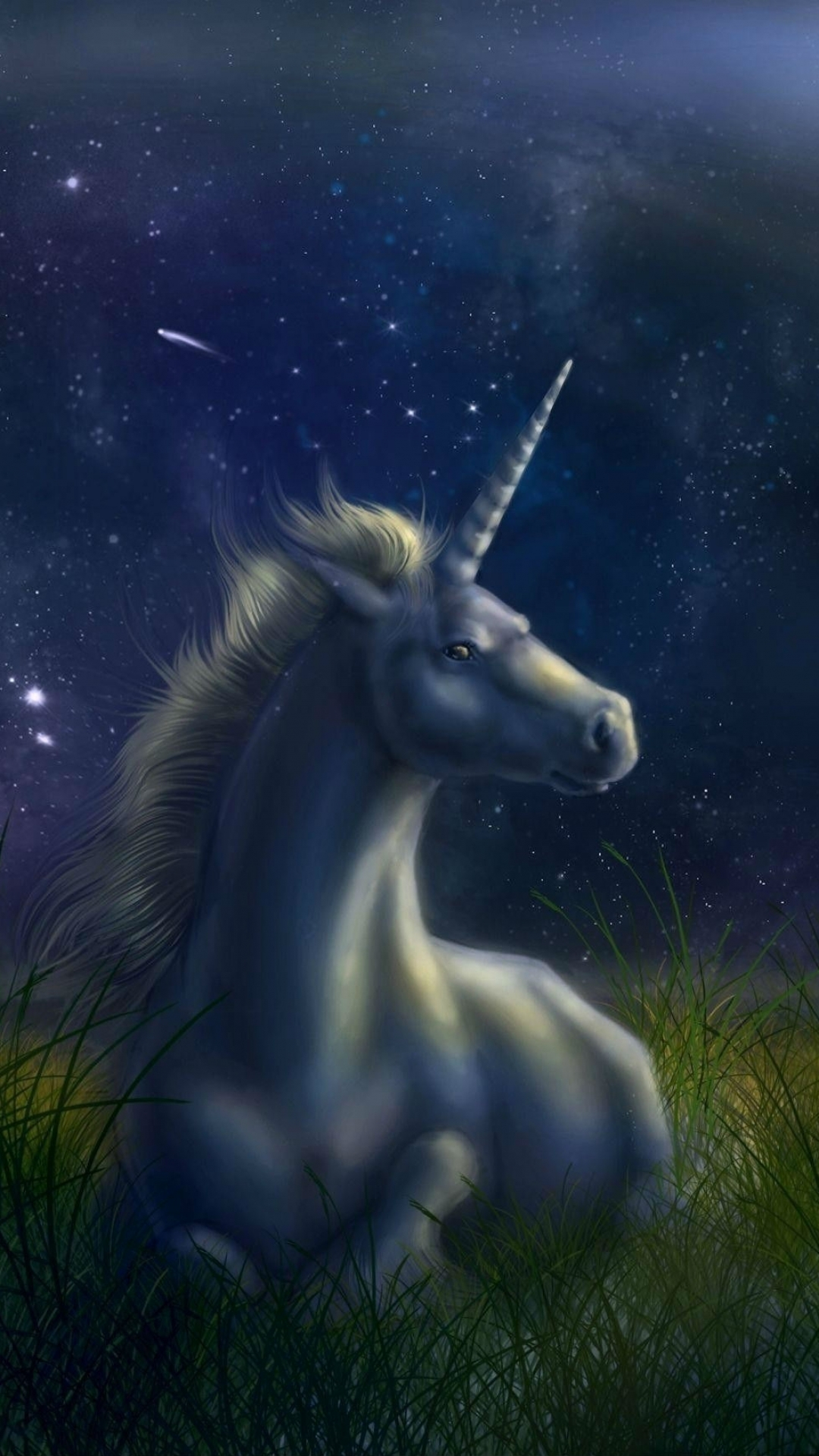 iPhone 5 Fantasy Unicorn Wallpaper ID