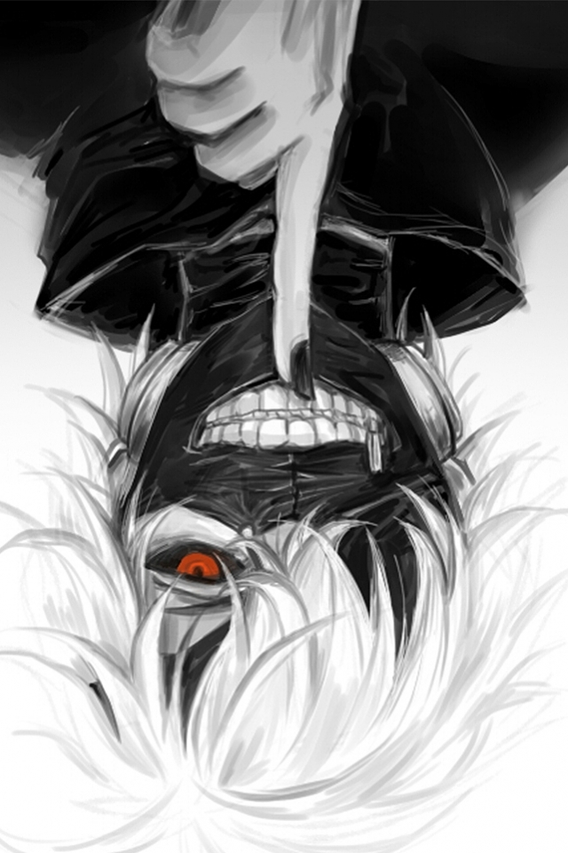 Anime Tokyo Ghoul 640x960 Mobile Wallpaper