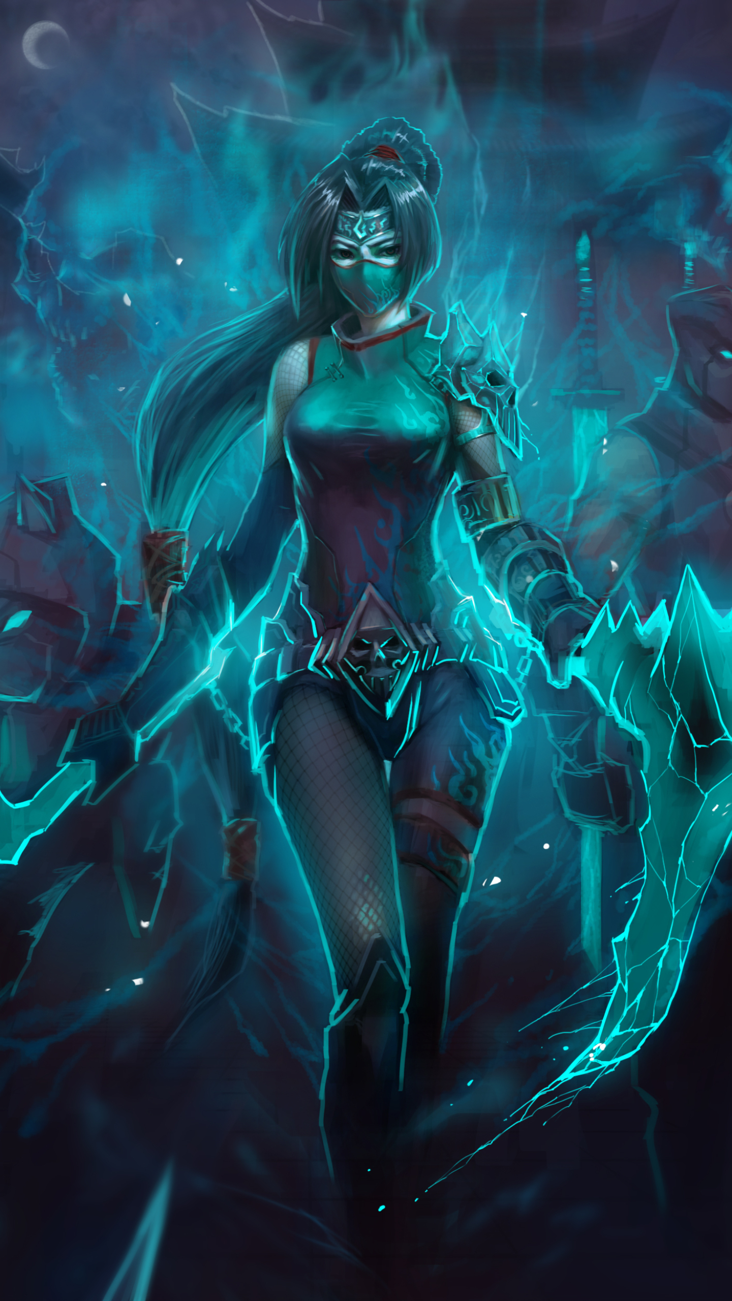 10 Akali Apple IPhone 6 750x1334 Wallpapers