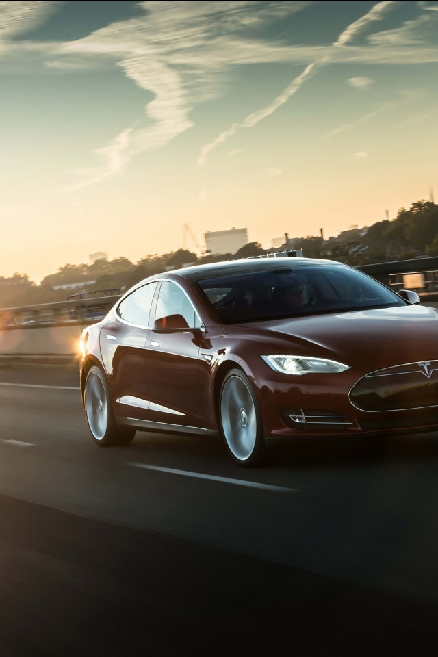 tesla model s iphone