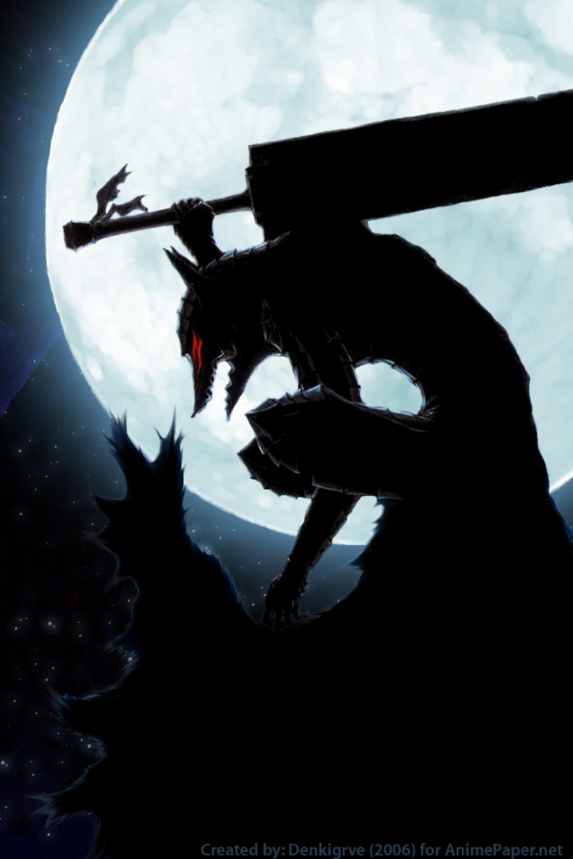 Berserk Manga Iphone Wallpaper