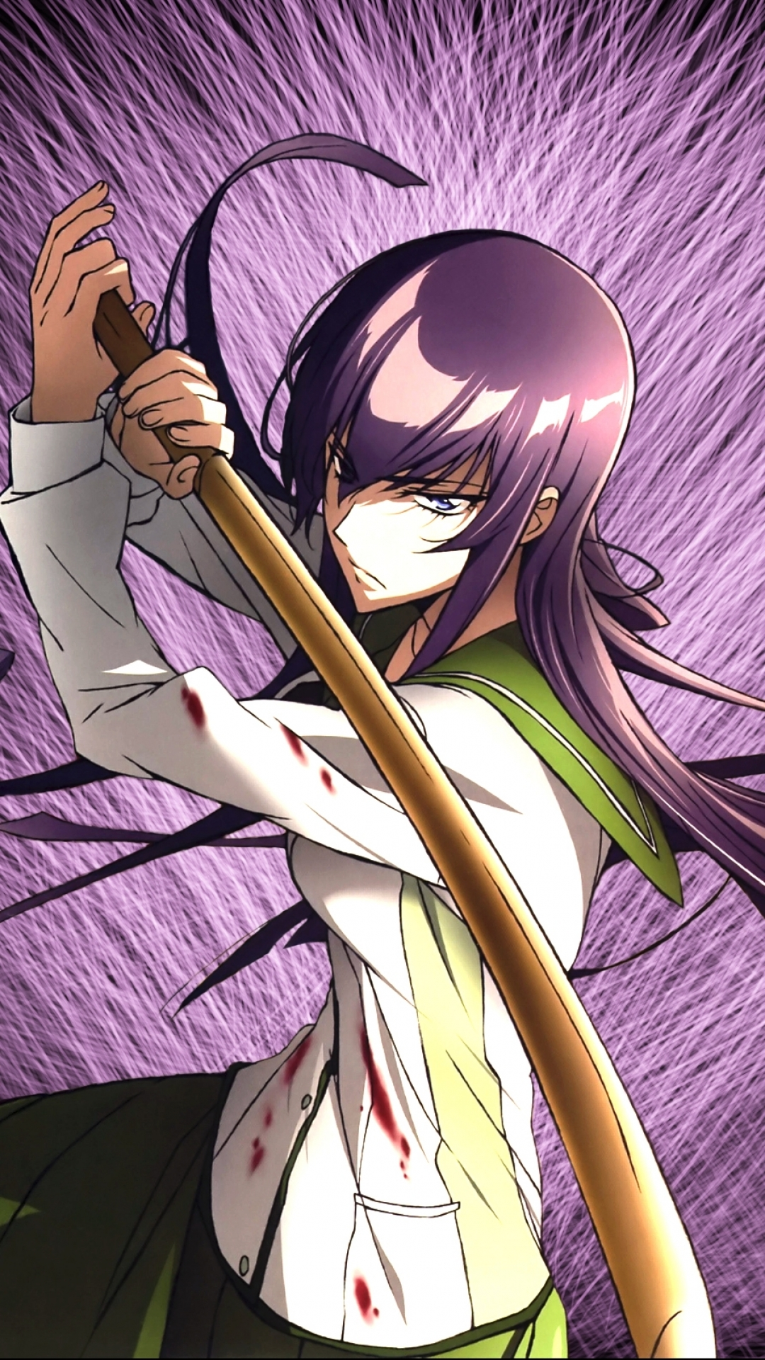Anime Highschool Of The Dead 1080x1920 Mobile Wallpaper