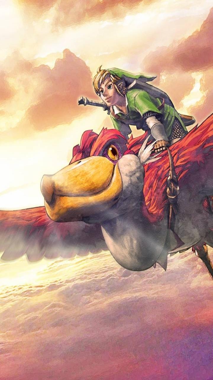Video Game The Legend Of Zelda Skyward Sword 720x1280 Wallpaper
