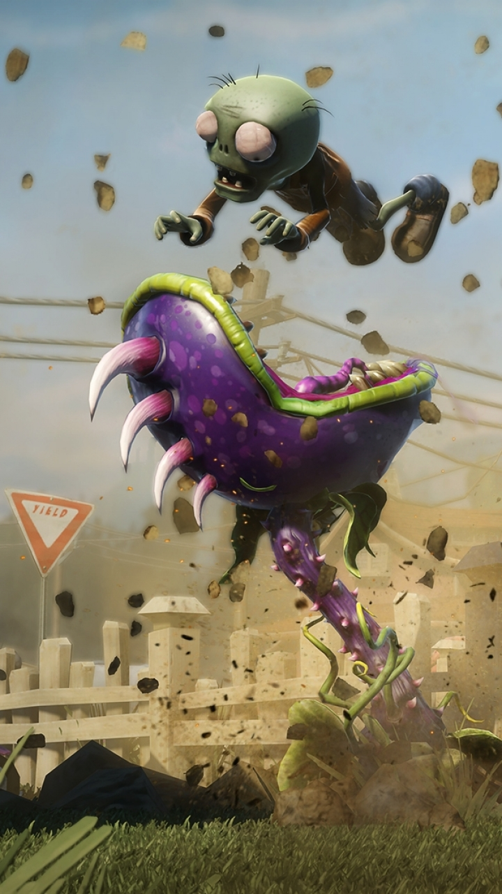video game/plants vs. zombies : garden warfare (720x1280) wallpaper
