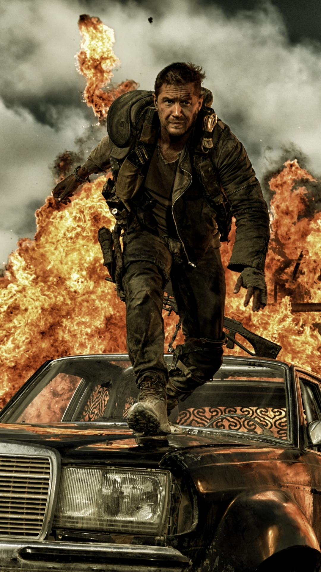 Mad Max Motorcycle >> iPhone 6 - Movie/Mad Max: Fury Road - Wallpaper ID: 358685