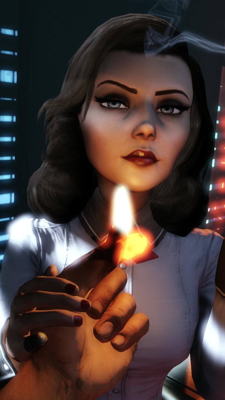 Video Game BioShock Infinite Burial At Sea 720x1280 Mobile Wallpaper
