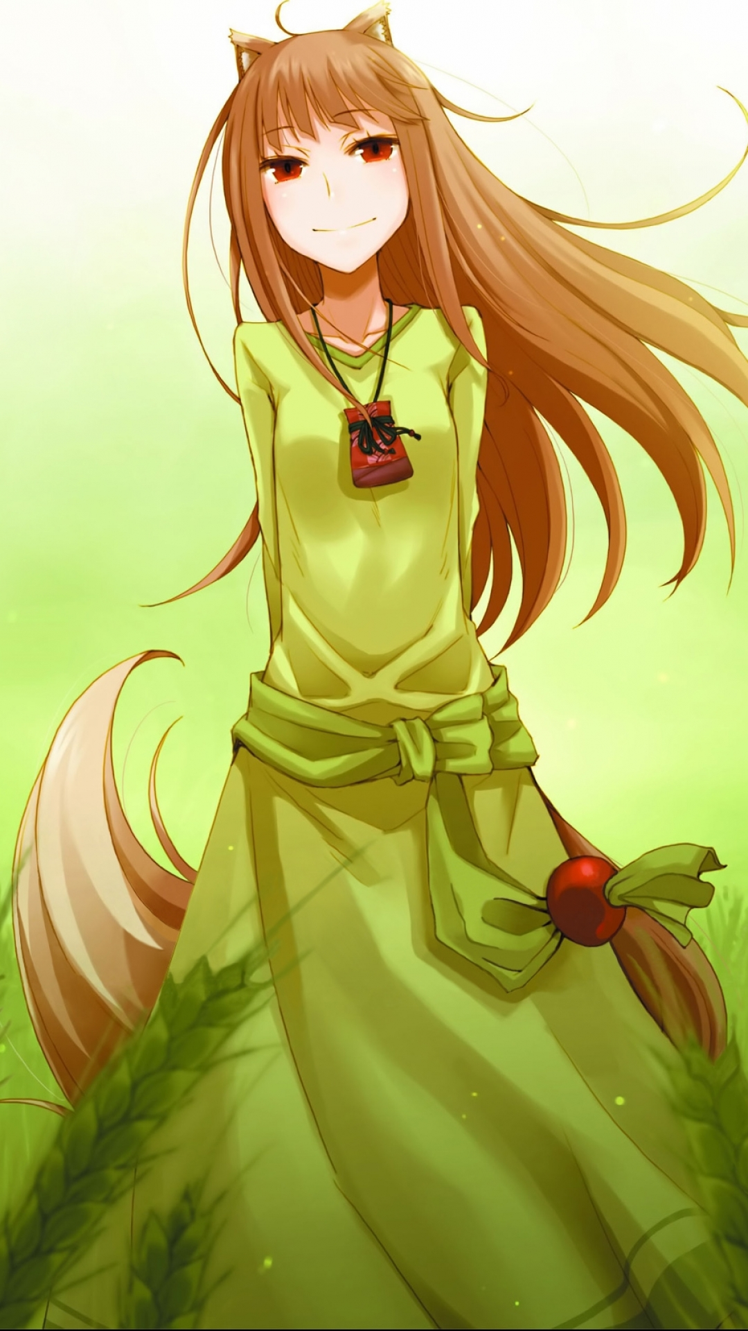 Anime Spice And Wolf 1080x1920 Mobile Wallpaper