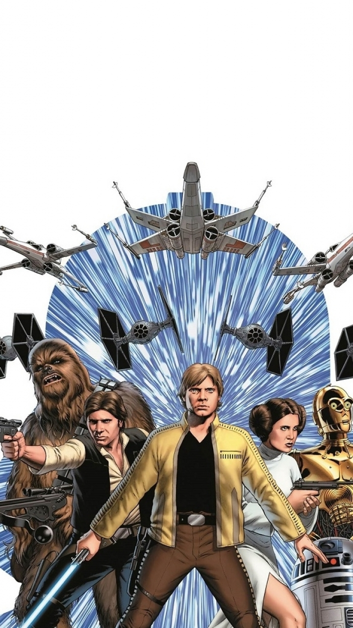 Comicsstar Wars 720x1280 Wallpaper Id 369414 Mobile Abyss