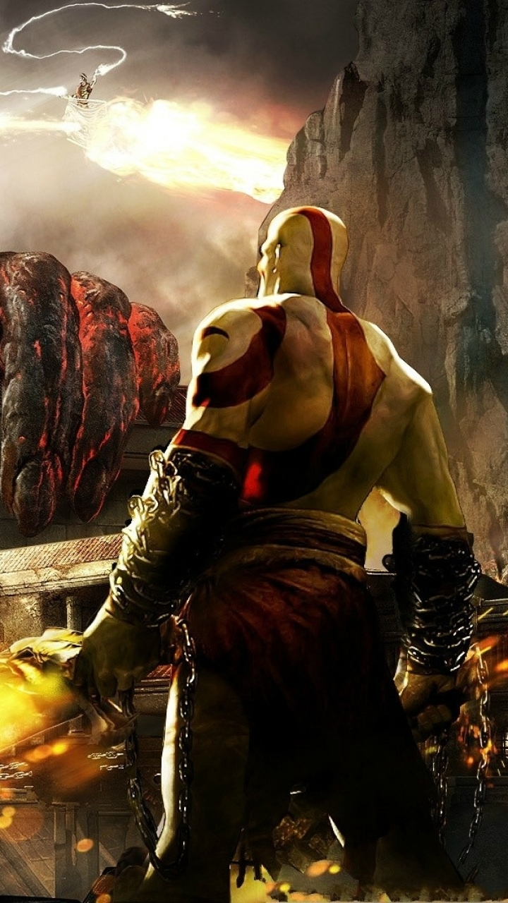 Video Game God Of War III 720x1280 Mobile Wallpaper