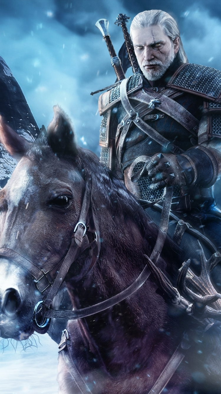 Video Game The Witcher 3 Wild Hunt 750x1334 Wallpaper Id