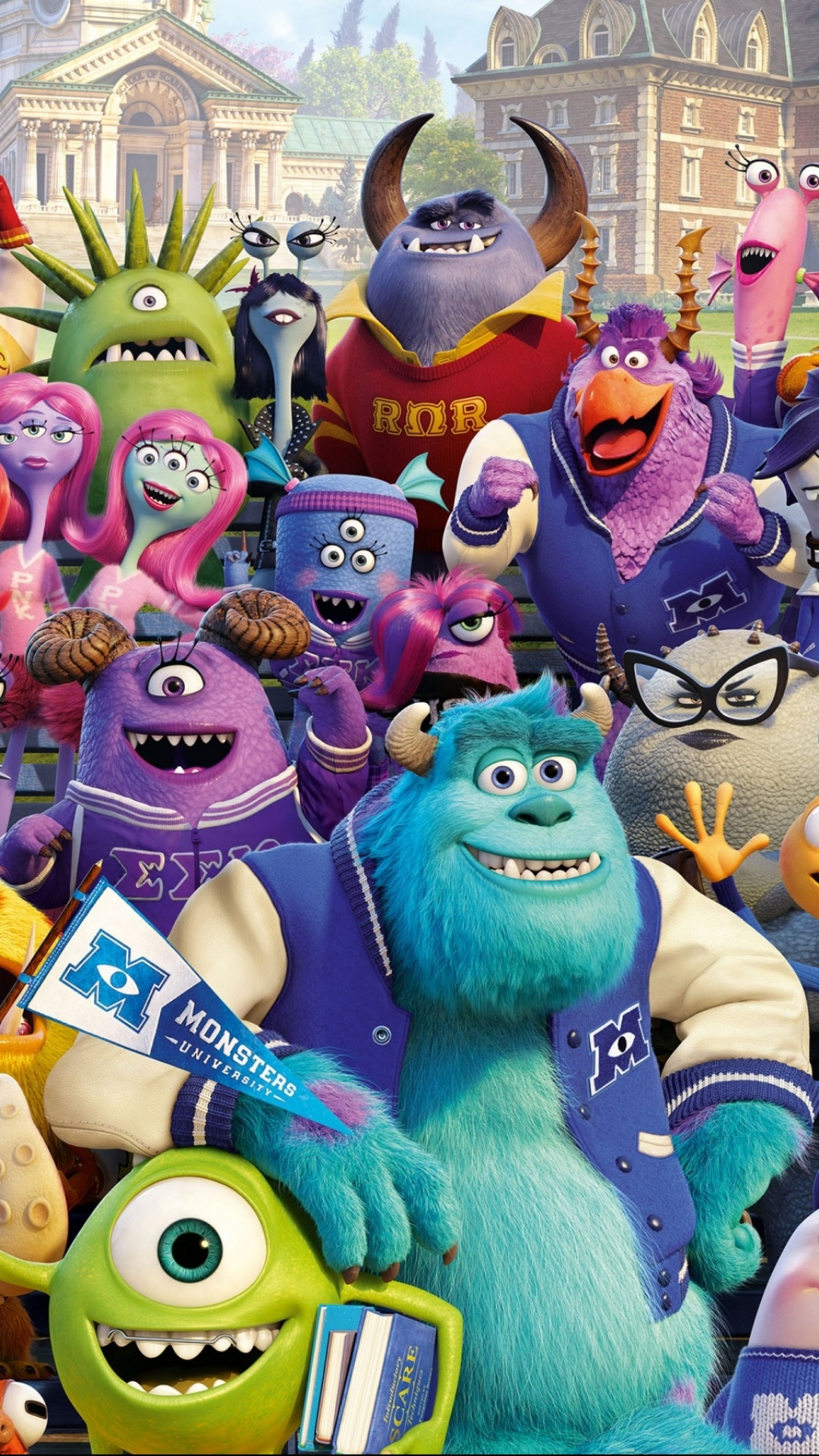 Wallpaper iphone monster university - Wallpaper 385613