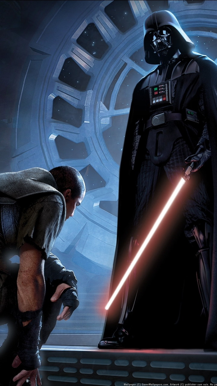 Sci Fi Star Wars The Force Unleashed 720x1280 Mobile Wallpaper