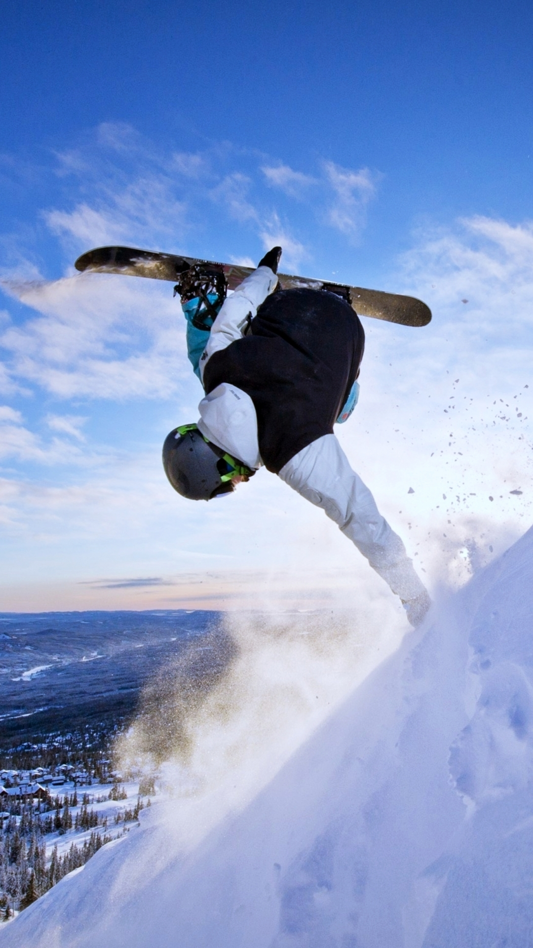 Snowboarding wallpaper iphone