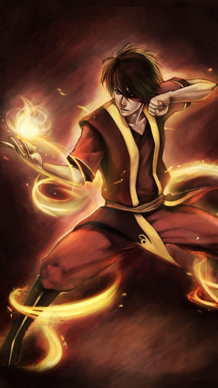 Anime Avatar The Last Airbender 750x1334 Mobile Wallpaper