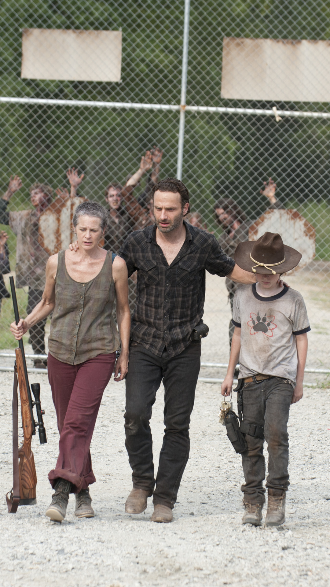 Tv Show The Walking Dead 720x1280 Wallpaper Id 411564 Mobile