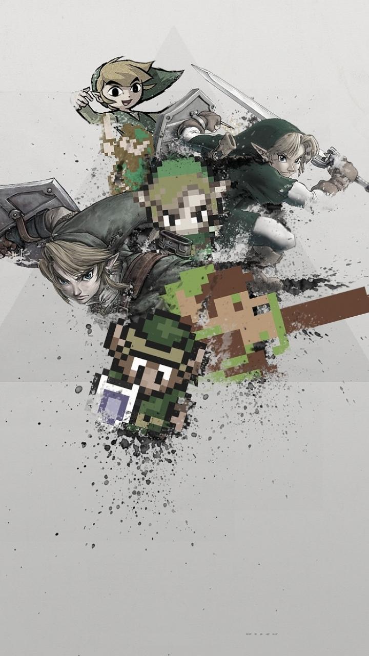 Video Game The Legend Of Zelda 720x1280 Wallpaper Id 414504