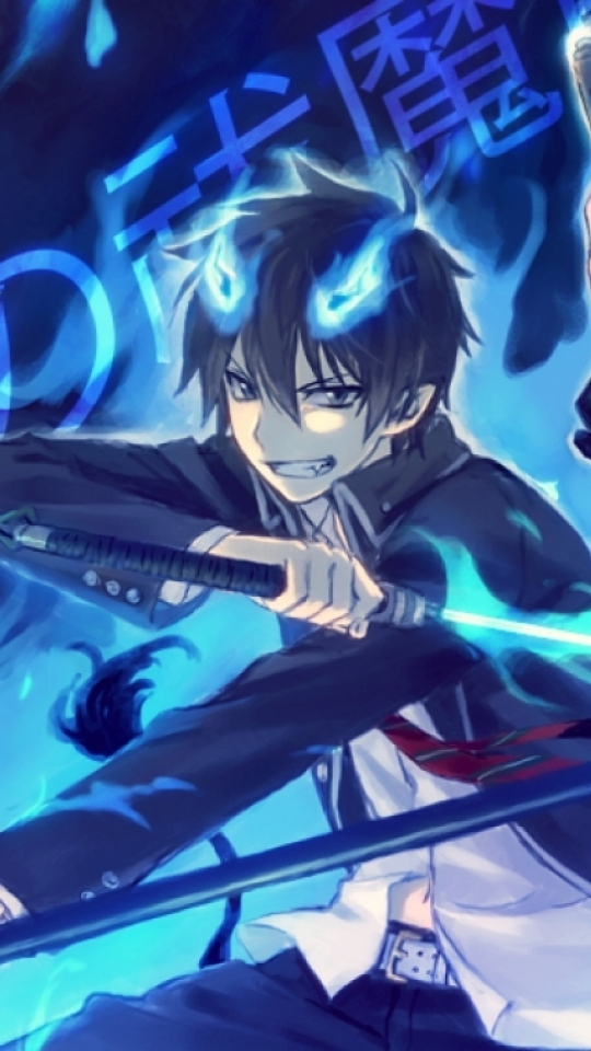 Anime Blue Exorcist 540x960 Wallpaper Id 418535 Mobile Abyss