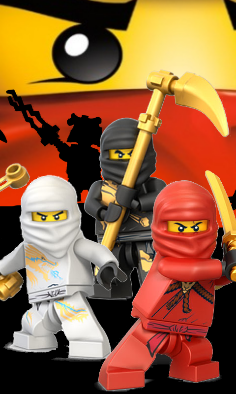 TV Show Lego Ninjago Masters Of Spinjitzu 480x800 Mobile Wallpaper