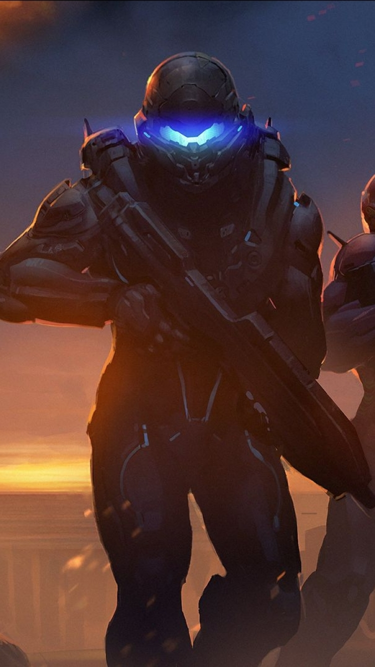 23 Halo 5 Guardians Apple Iphone 7 750x1334 Wallpapers Mobile