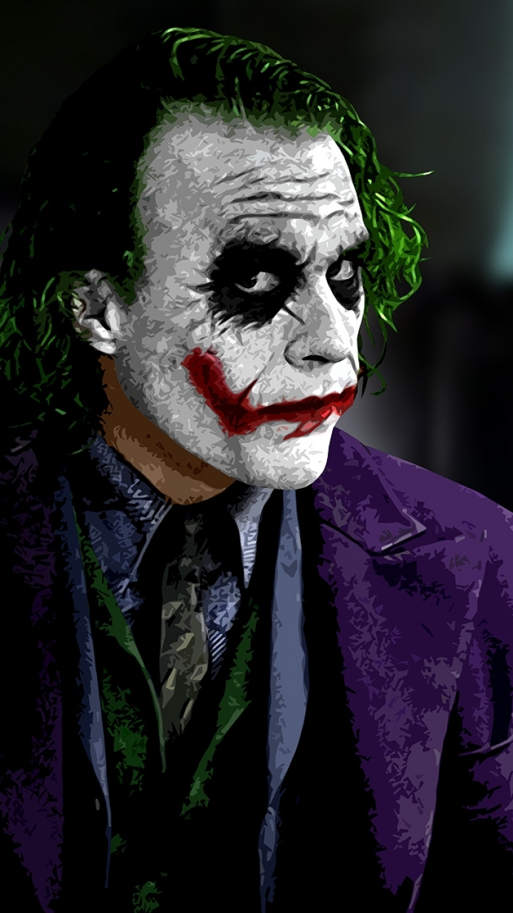 The Dark Knight 720x1280 Wallpaper Id 432576 Mobile Abyss Joker Hd