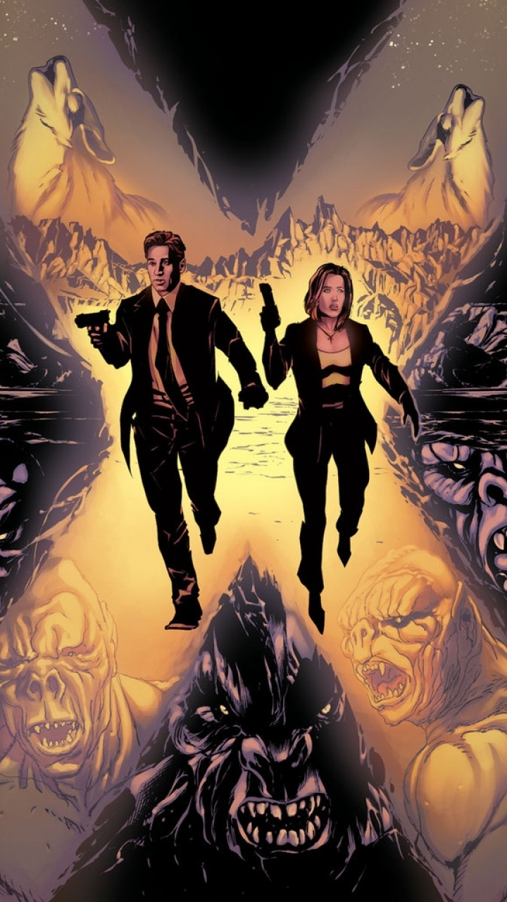 Iphone 5 Comics The X Files Wallpaper Id 436033