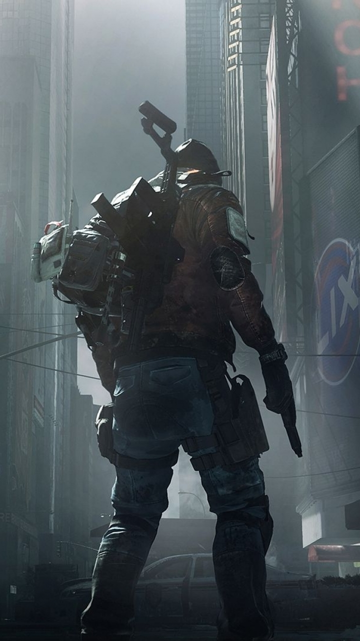57 Tom Clancy S The Division Apple Iphone 5 640x1136