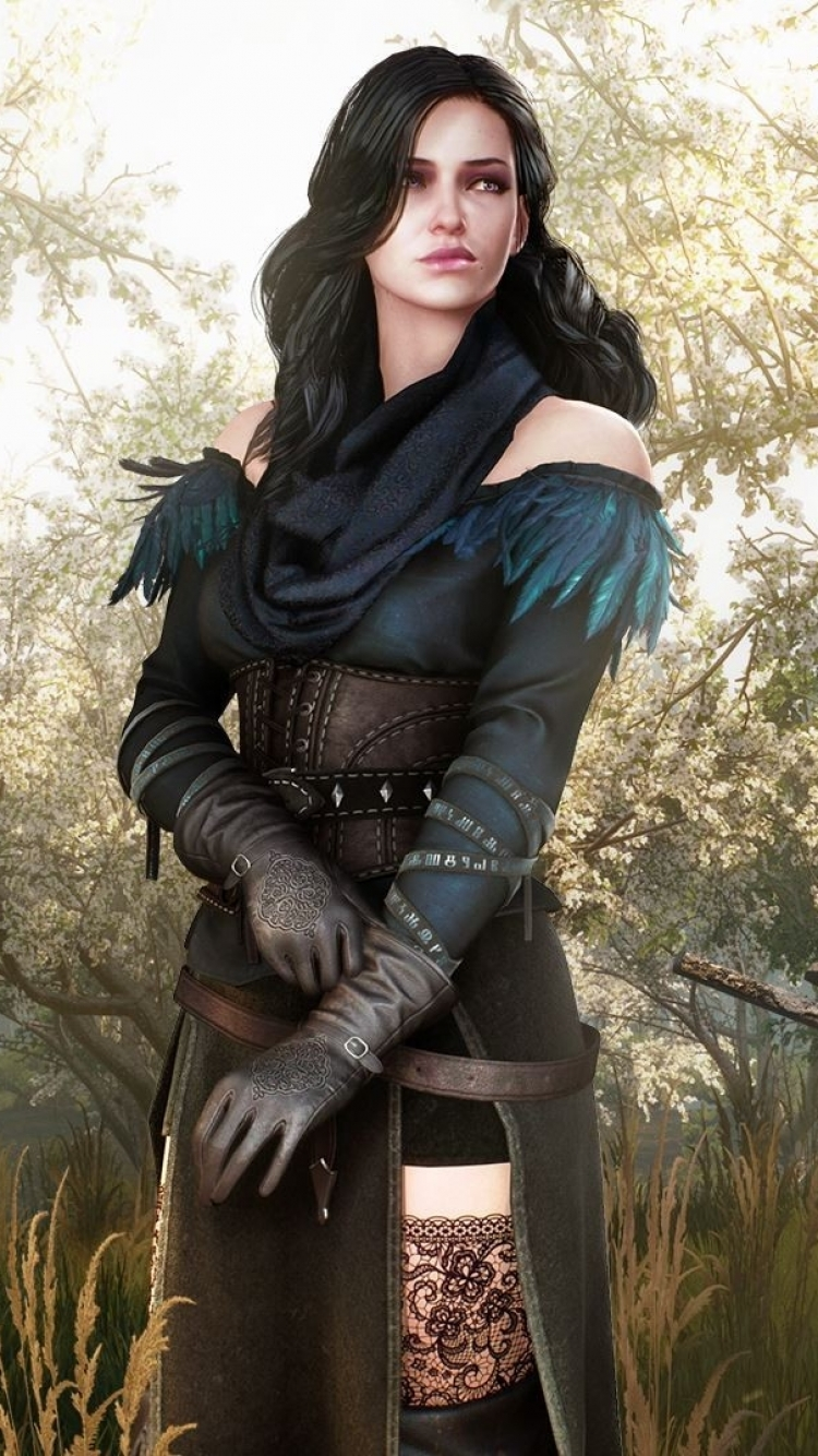 Video Game The Witcher 3: Wild Hunt The Witcher Yennefer Of Vengerberg ...: https://mobile.alphacoders.com/d_93/wallpaper/444047/Video-Game-The...