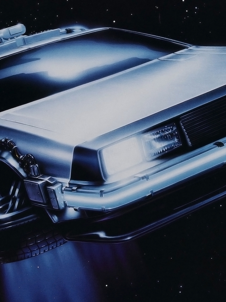 Movie Back To The Future 768x1024 Wallpaper Id 447477 Mobile
