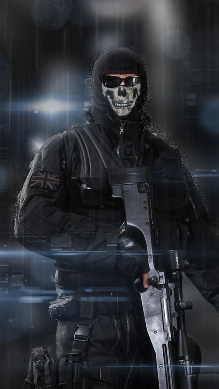 Video Game Call Of Duty Ghosts 720x1280 Wallpaper Id 44760