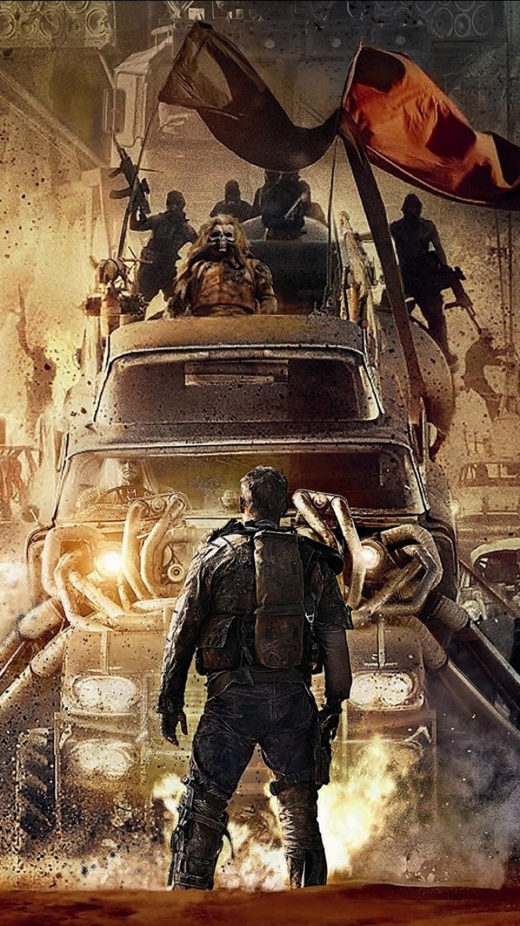 Movie Mad Max Fury Road 750x1334 Mobile Wallpaper
