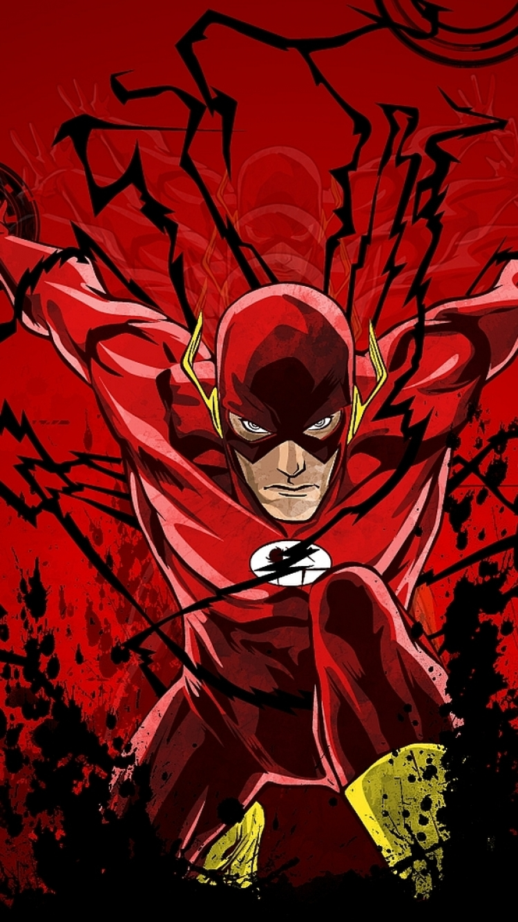 Comics Flash 750x1334 Wallpaper Id 459491 Mobile Abyss