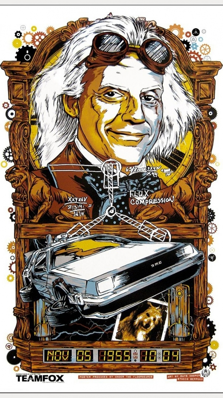 6 Back To The Future Apple Iphone 7 750x1334 Wallpapers Mobile
