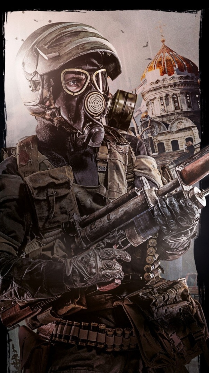 Video Game Metro Last Light 720x1280 Mobile Wallpaper